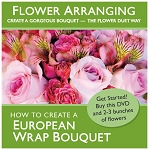 Hand-Tied How-To DVD: How to Create a European Wrap Bouquet
