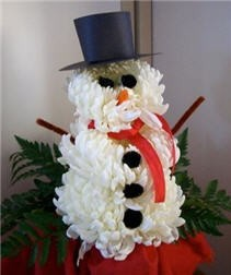 Flower Snow Man Novelty Design - PDF Download