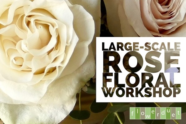 July 20, 2019 - Large Scale Florals with Roses & Peonies