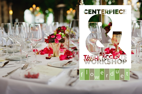 October 21, 2020 - Wedding Series Centerpieces and Table Accents