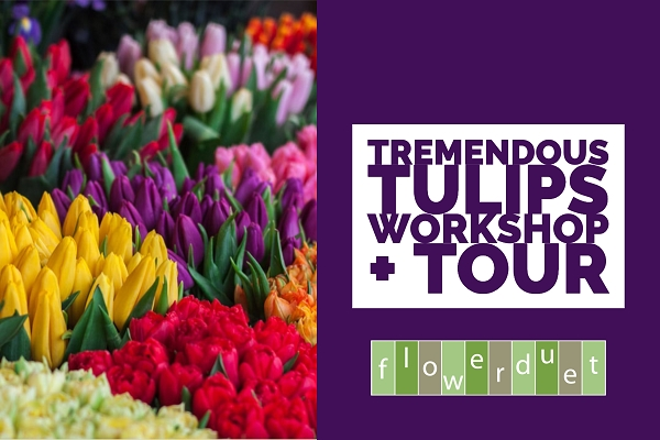 April 18, 2020 - Tremendous Tulips & TOUR Combo