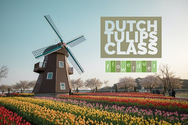 APRIL 17, 2021 - Dutch Tulips - IN-PERSON OR ONLINE + SUPPLIES