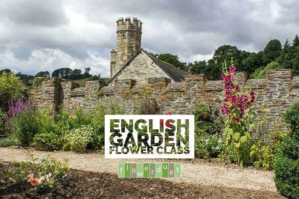 September 18, 2021 - English Garden Flower Class - IN-PERSON OR ONLINE + SUPPLIES
