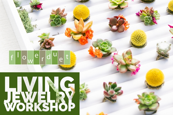 TUESDAY, OCTOBER 15, 2019 - Botanical Living Jewelry Workshop