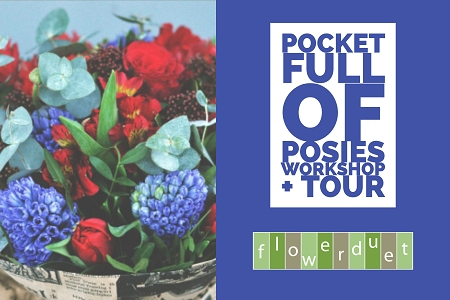 June 15, 2010 - Posies Workshop + Tour Combo