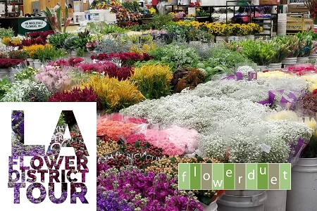 June 15, 2019 - June Flower Mart Tour