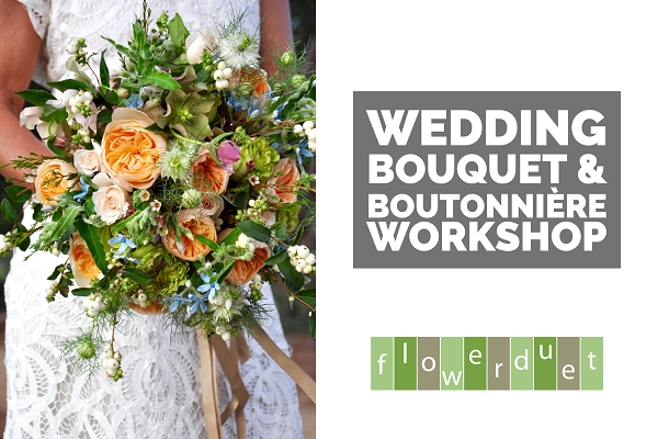 May 20, 2020 – Wedding Series: Bouquet & Boutonnière