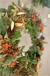 December 1, 2018 - Hand-made Wreaths and Garlands