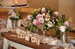 July 12, 2017 - Wedding Series Centerpieces and Table Accents