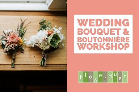 Jan 24 2019 – Wedding Series: Bouquet & Boutonnière