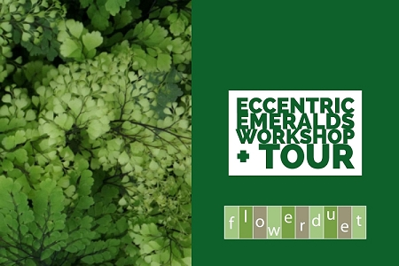 March 9, 2019 – Eccentric Emerald Flowers + TOUR Combo