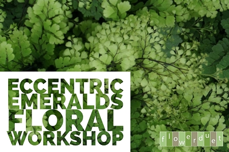 March 9, 2019 – Eccentric Emerald Flowers