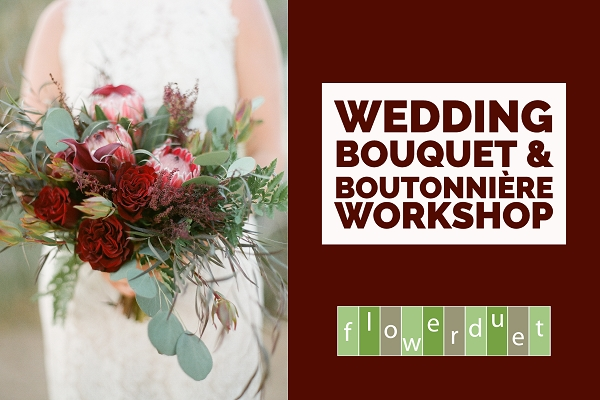 September 23, 2020 – Wedding Series: Bouquet & Boutonnière