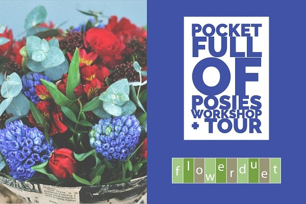 May 16, 2020 - Pocket Full of Posies Workshop + TOUR