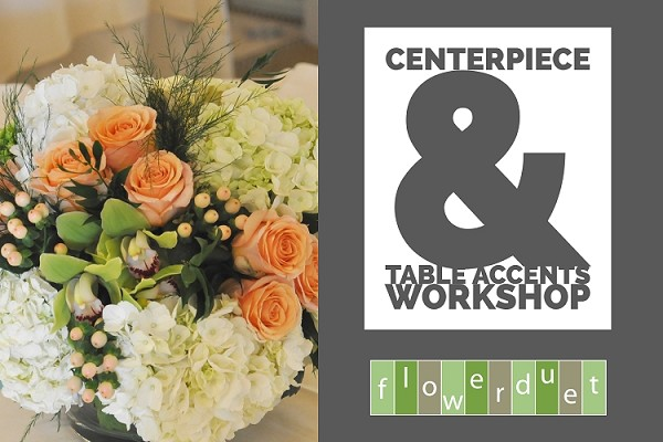 October 23, 2019 - Wedding Series Centerpieces and Table Accents