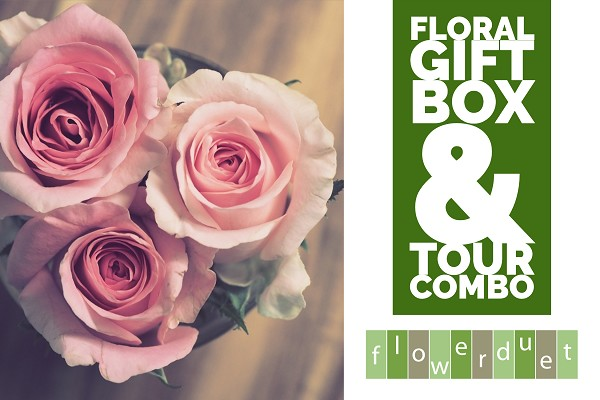 February 8, 2020 - Floral Gift Box Workshop & TOUR Combo