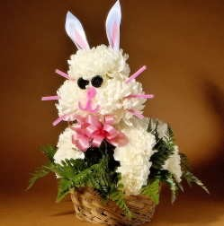 Flower Bunny Novelty Design - PDF Download