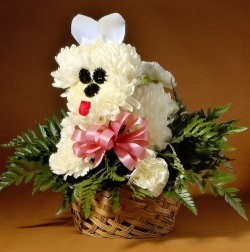 Flower Puppy Novelty Design - PDF Download